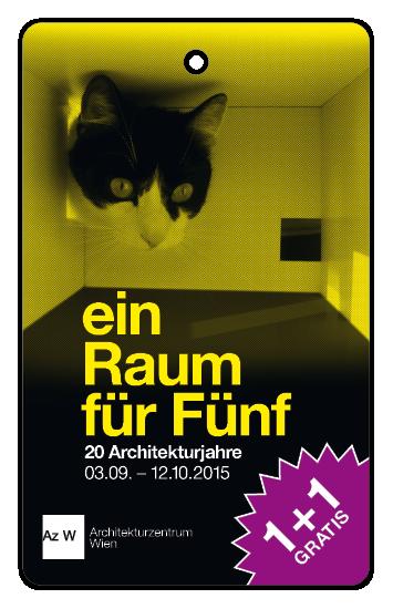 """""""Ein Raum für Fünf. Zwanzig Architekturjahre"""""""