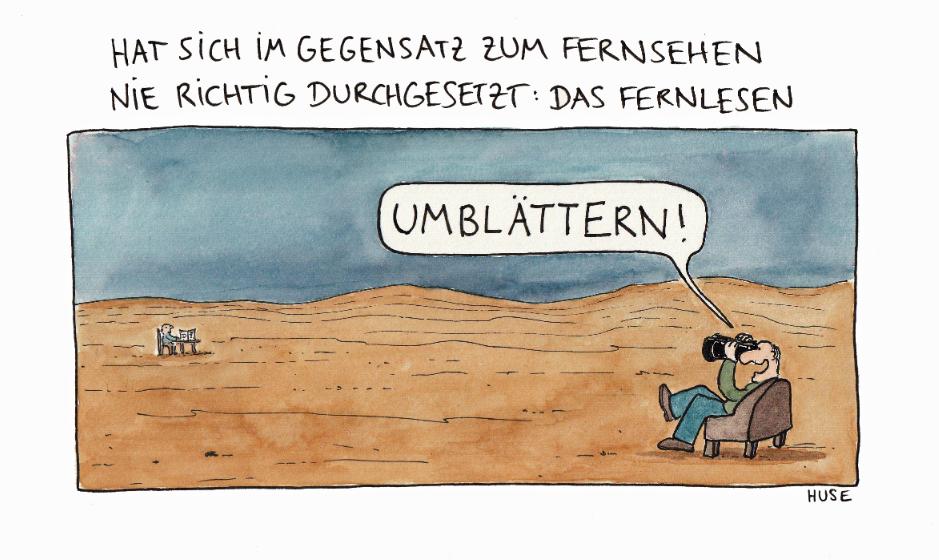 HUSE - Umblaettern