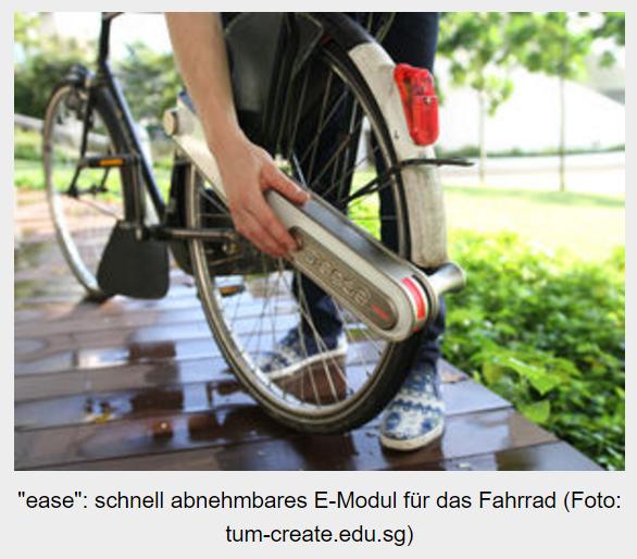 E-Modul für das Fahrrad